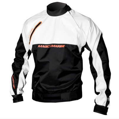 Racing Breathable Spray top - white